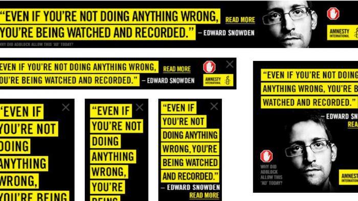 Amnesty International: Anti-Zensur-Banner für Adblock-Nutzer