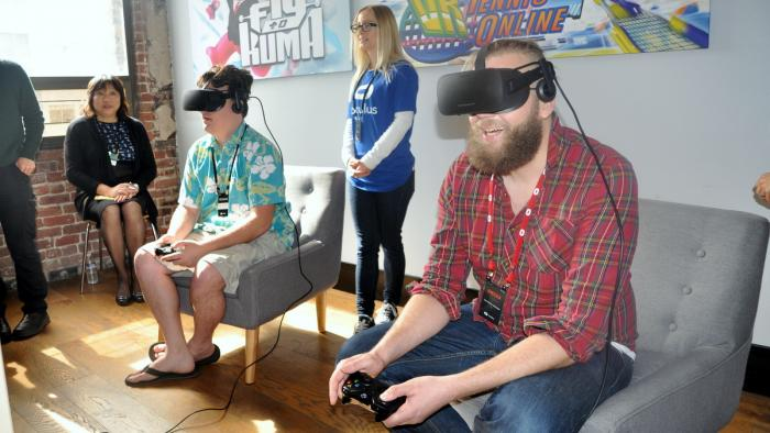 Palmer Luckey - Oculus Rift Spiele