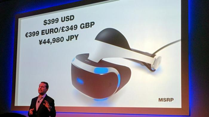 GDC: Sonys Playstation VR kostet 399 Euro - und stiehlt Oculus Rift und HTC Vive die Schau