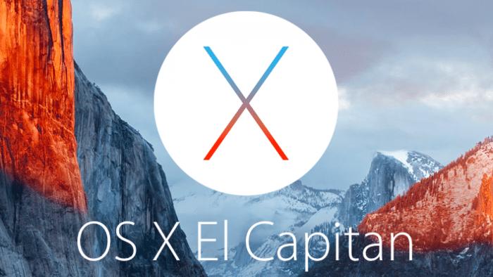 Test von OS X 10.11.4 geht weiter
