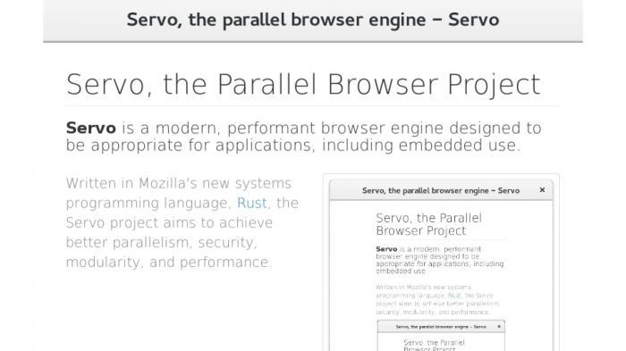 Servo: Mozilla will im Juni einen neuen Web-Browser zeigen