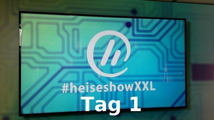 #heiseshowXXL @ CeBIT 2016: Die Videos von Tag 1