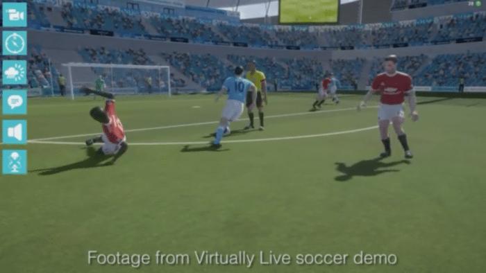 GDC: Virtually Live plant Fußball-Übertragungen in VR