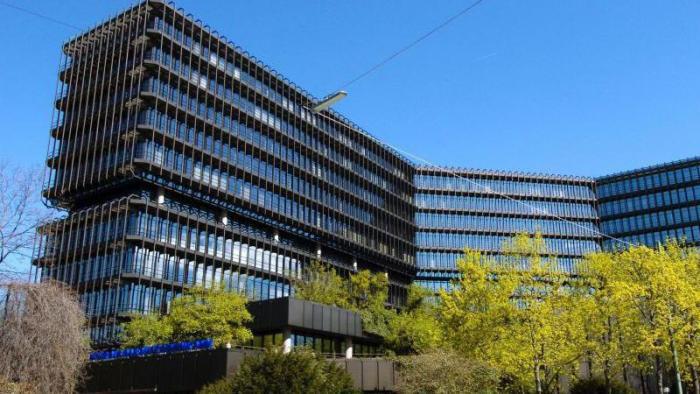 Gebäude des Europischen Patentamts in München