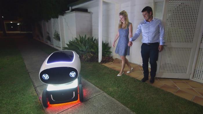 Robotik: DRU, der autonome Pizzabote