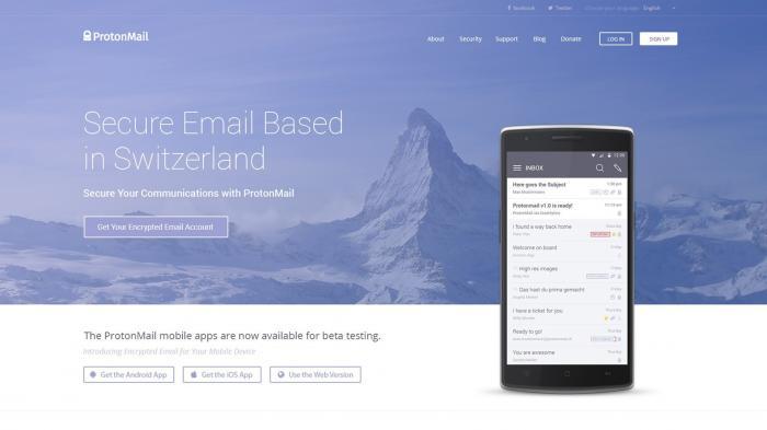 ProtonMail hat Betastatus verlassen
