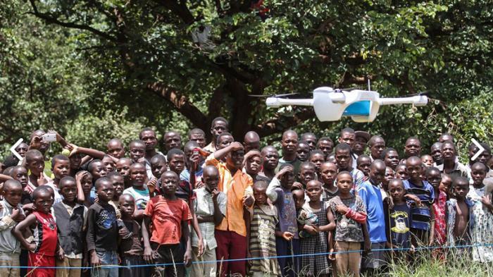 Diagnose per Drohne: Hilfe für HIV-Patienten in Malawi