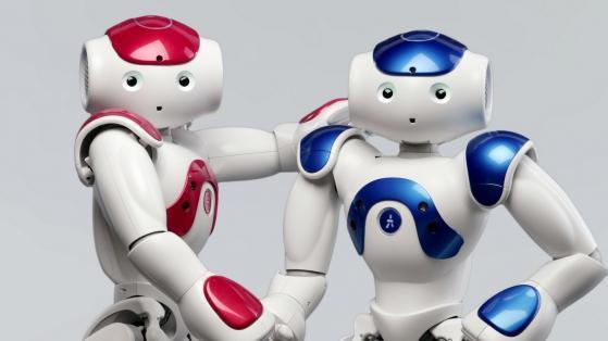 Berührung von Robotern
