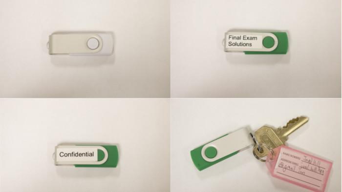 Studie: Viele schließen gefundene USB-Sticks an