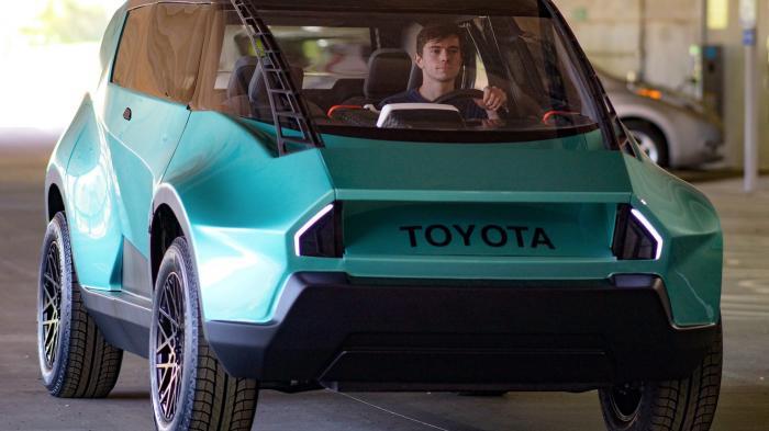 """Toyota entwirft ein Elektroauto für die """"Generation Z"""""""
