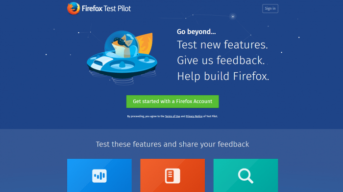 Mozilla sucht Testpiloten für Firefox