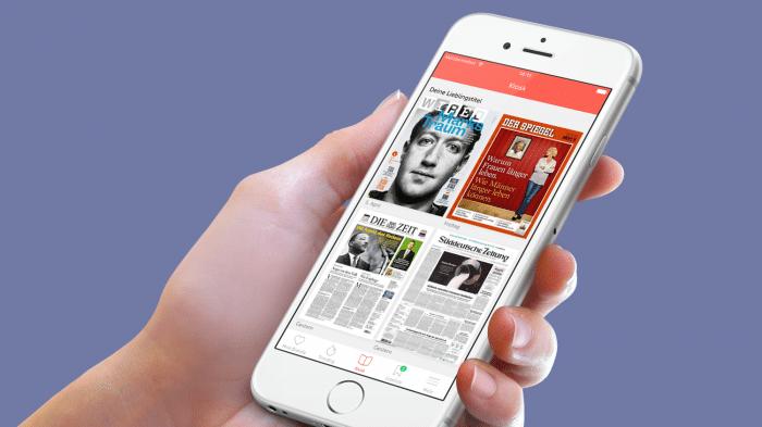 Online-Kiosk: Blendle bohrt seine iOS-App auf