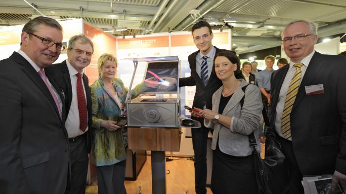 Jugend forscht: Preise für Drohnenabwehr und 3D-Projektoren