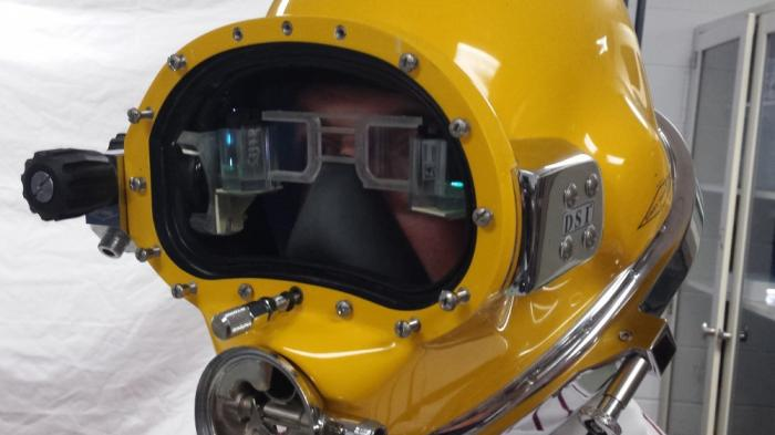 Divers Augmented Vision Display: Augmented Reality im Taucherhelm