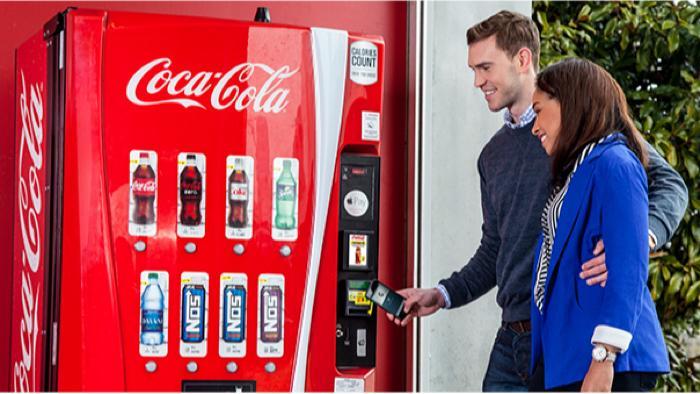 Kostenlose Cola mit Apple Pay