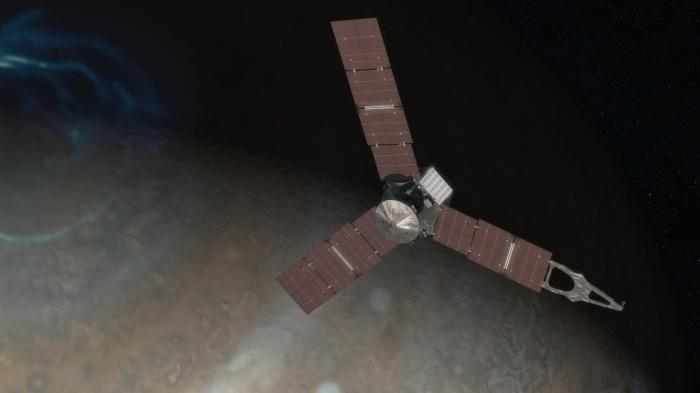 NASA-Sonde Juno kurz vor Ankunft am Jupiter