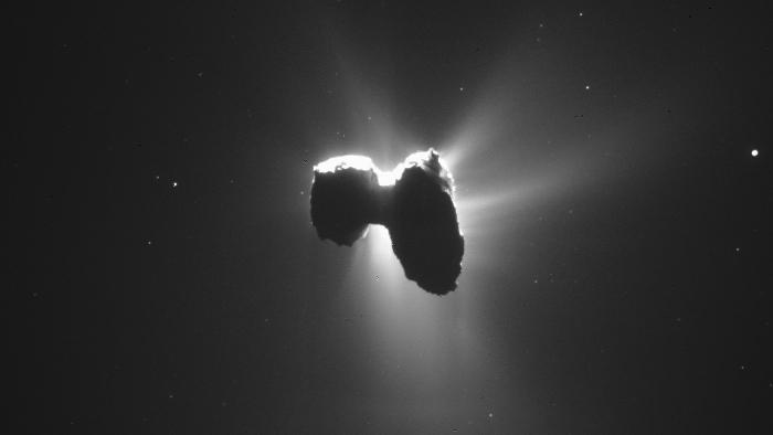 ESA-Sonde Rosetta soll am 30.September auf Kometen landen