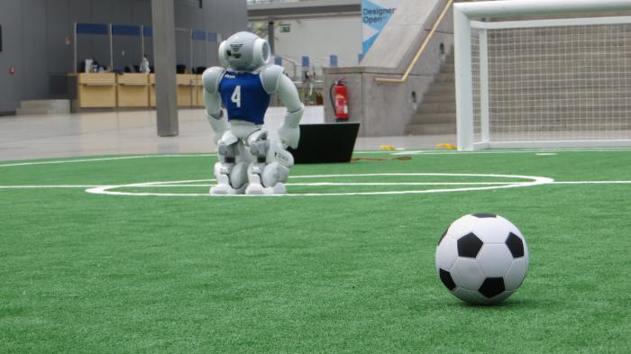 RoboCup angepfiffen: Rempeleien werden jetzt geahndet