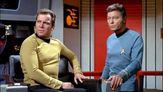 Captain James T. Kirk und Dr. Leonard McCoy
