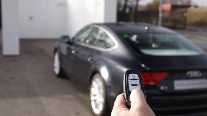 Autonomes Auto-Parken bei Audi