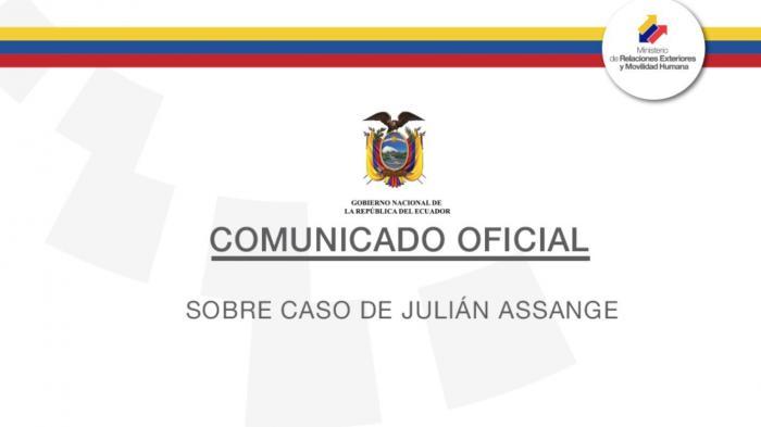 Ecuador: Assange kann in Botschaft verhört werden
