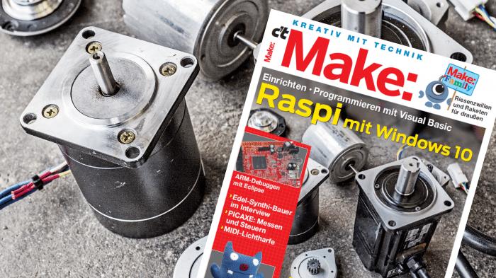Make: Ausgabe 04/16 jetzt im heise shop bestellbar