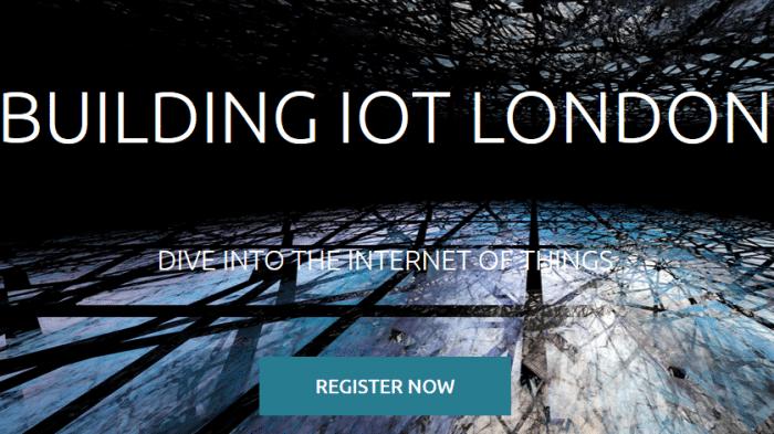 Internet der Dinge: Vorträge für Building IoT London gesucht