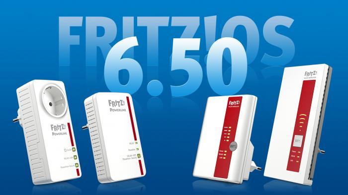 FritzOS 6.50 jetzt auch für Repeater und Powerline-Geräte von AVM