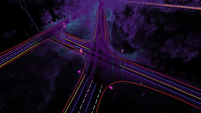 3D-Karten-Erfassung über im Fahrzeug bereits verbaute Sensoren