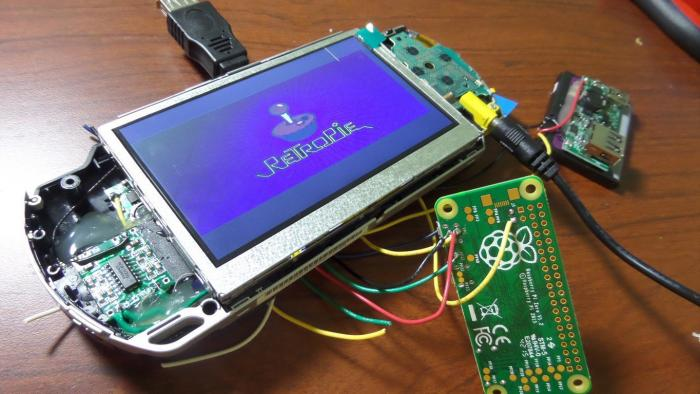 PSPi: Komplett-Umbau mit Pi Zero macht PSP zur Emu-Plattform