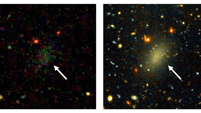 """Forscher entdecken """"dunkle Milchstraße"""" - Cousin unserer Galaxie"""