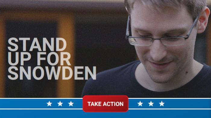 NSA-Skandal: Menschenrechtler fordern Begnadigung Edward Snowdens