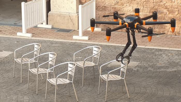 ProDrone stellt Drohne mit Greifarmen vor