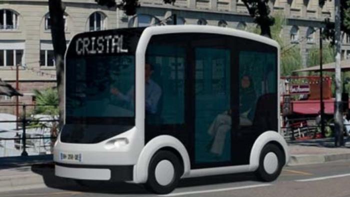 Le Cristal: Elektrische Shuttles für Berlin