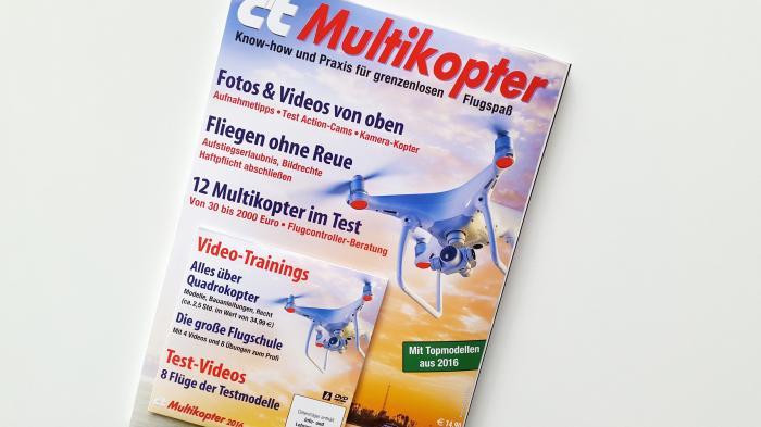 Sonderheft c't Multikopter mit Tutorial-DVD