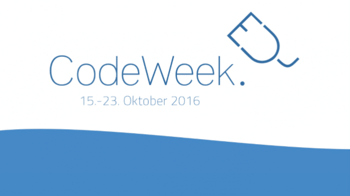 EU Code Week: Jugend hackt, programmiert und übt 3D-Druck