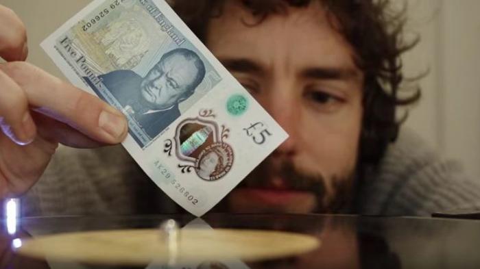Engländer entdecken mit der neuen Fünfpfund-Note die Liebe zur Schallplatte neu