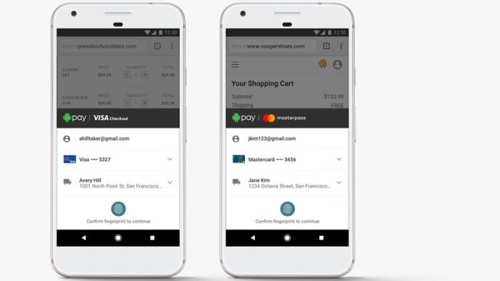 Android Pay: Google kooperiert mit Mastercard und Visa