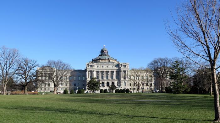 Hauptgebäude der Bibliothek des US Congress