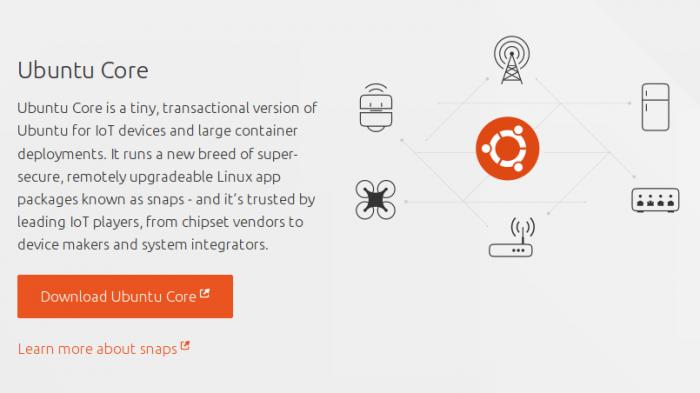 Ubuntu Core16: Betriebssystem für das Internet-of-Things