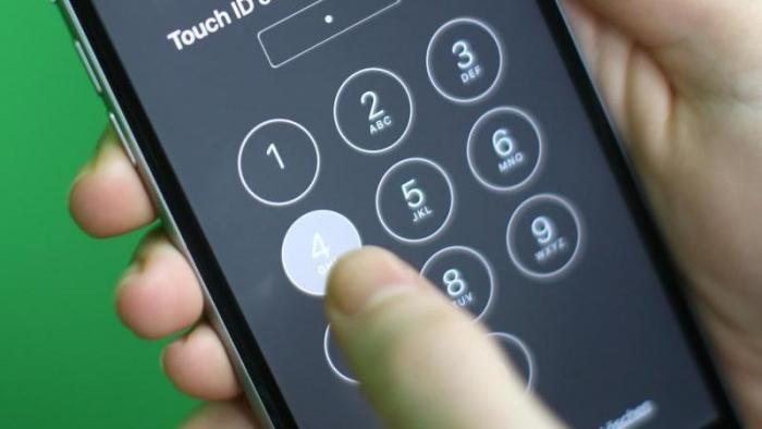 iPhone im Sperrzustand