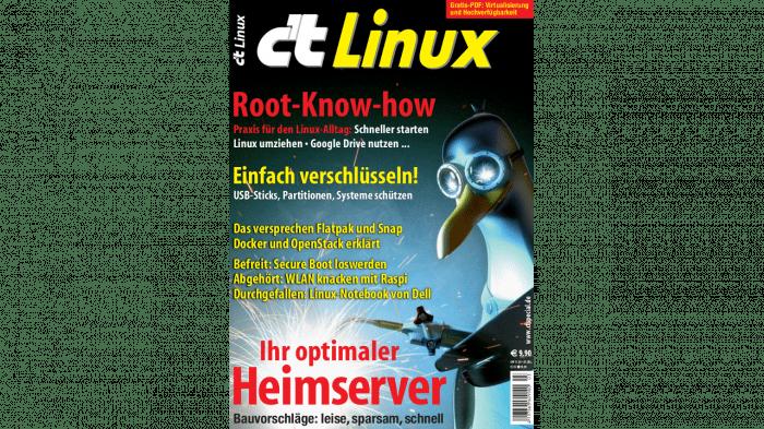 c't Linux 2017 jetzt bestellbar