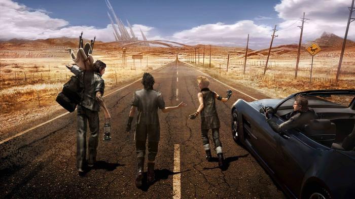 Final Fantasy 15 angespielt: Duran Duran im Wilden Westen