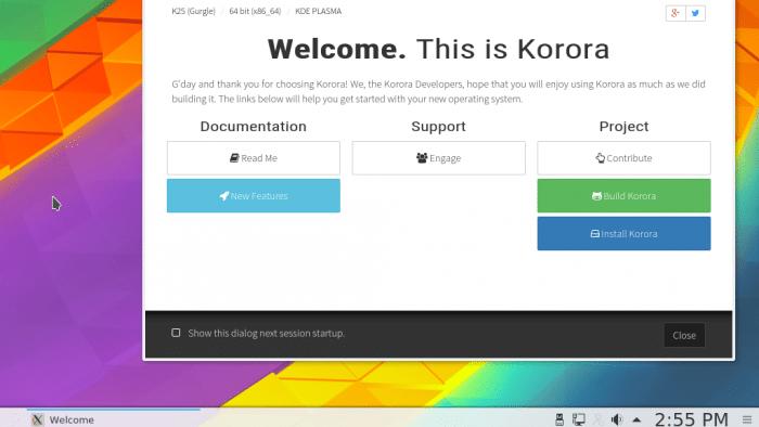 Korora 25