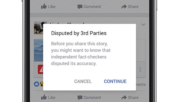 Facebook will nach Kritik härter gegen erfundene Nachrichten vorgehen