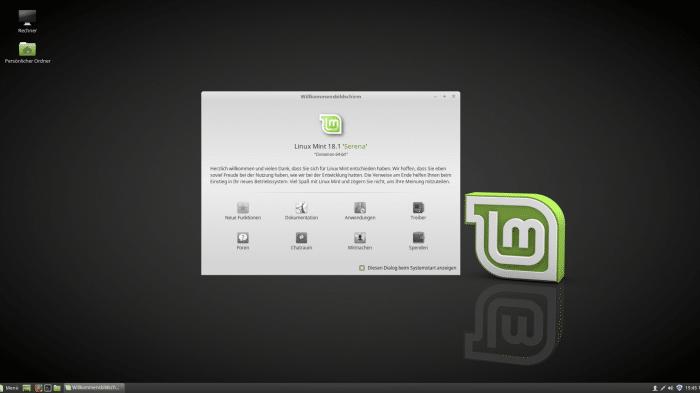 Linux-Distribution Mint 18.1 erhält Langzeitpflege