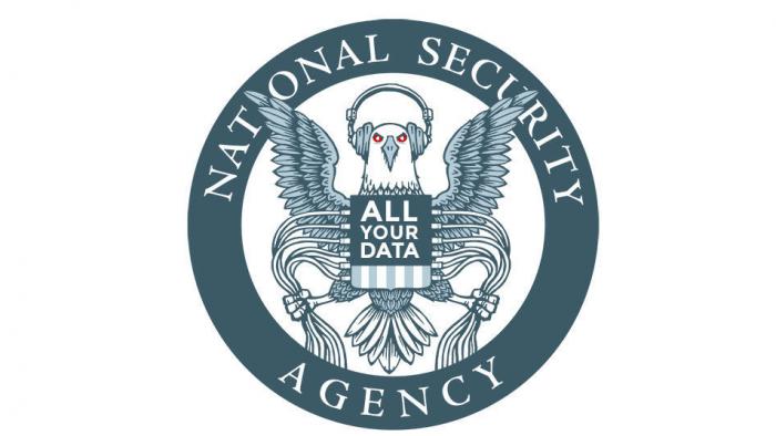 Parodie NSA-Logo