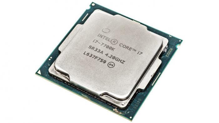 """Intel Core i7-7700K """"Kaby Lake"""""""