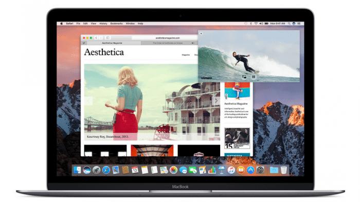 Safari 10 auf dem Mac