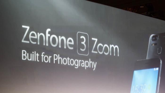 Asus Zenfone 3 Zoom: Smartphone mit 2,3-fach-Zoom und starkem Akku